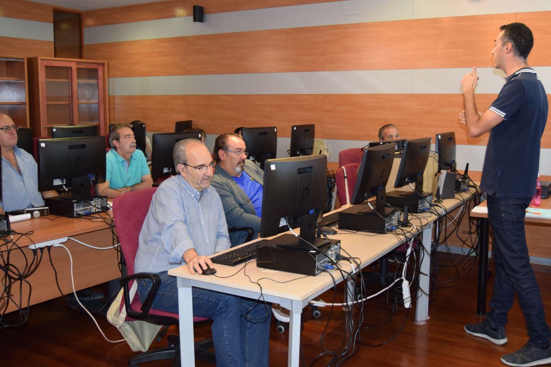 Curso de Informática en Toledo.
